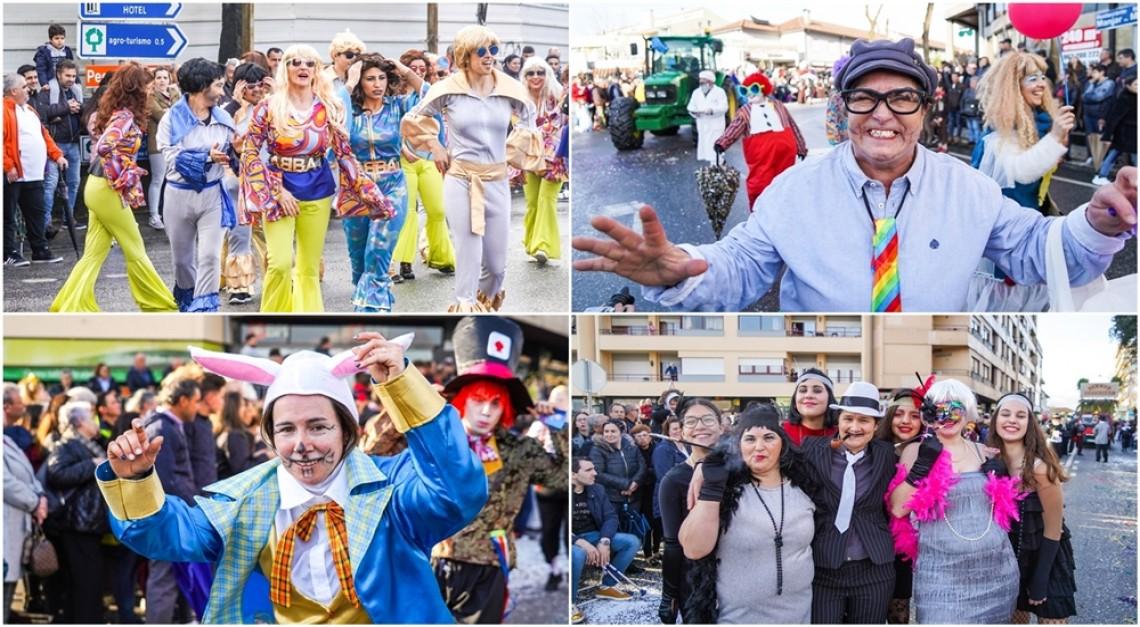 Cor, ritmo e muita animação no desfile de Carnaval da Vila de Prado