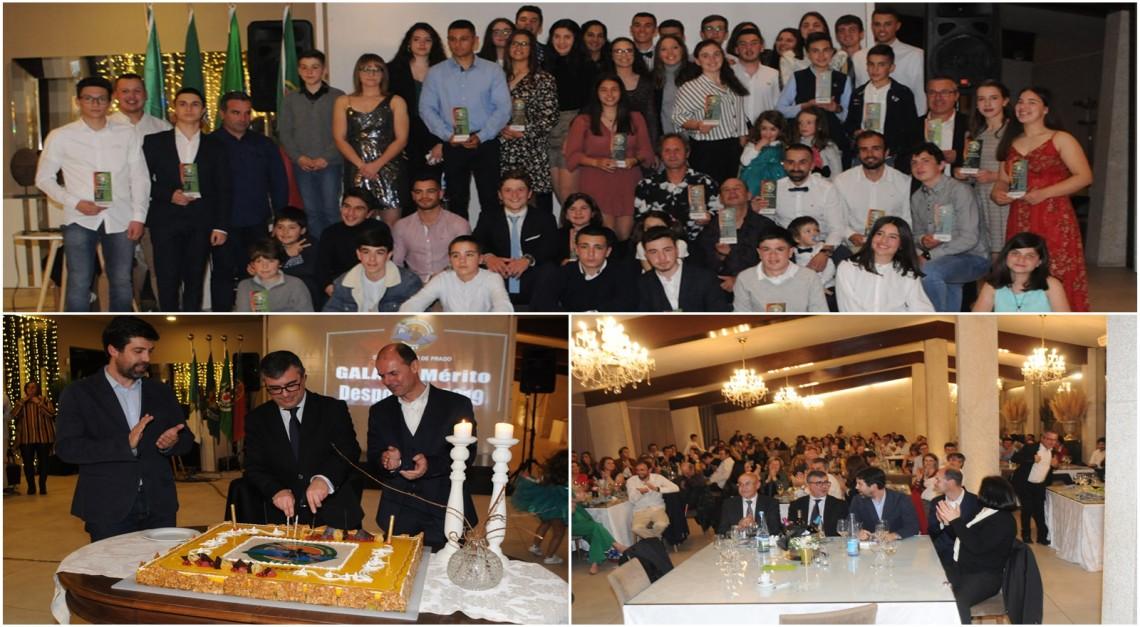 Gala de Mérito do CN Prado para homenagear os melhores e comemorar o 38º aniversário