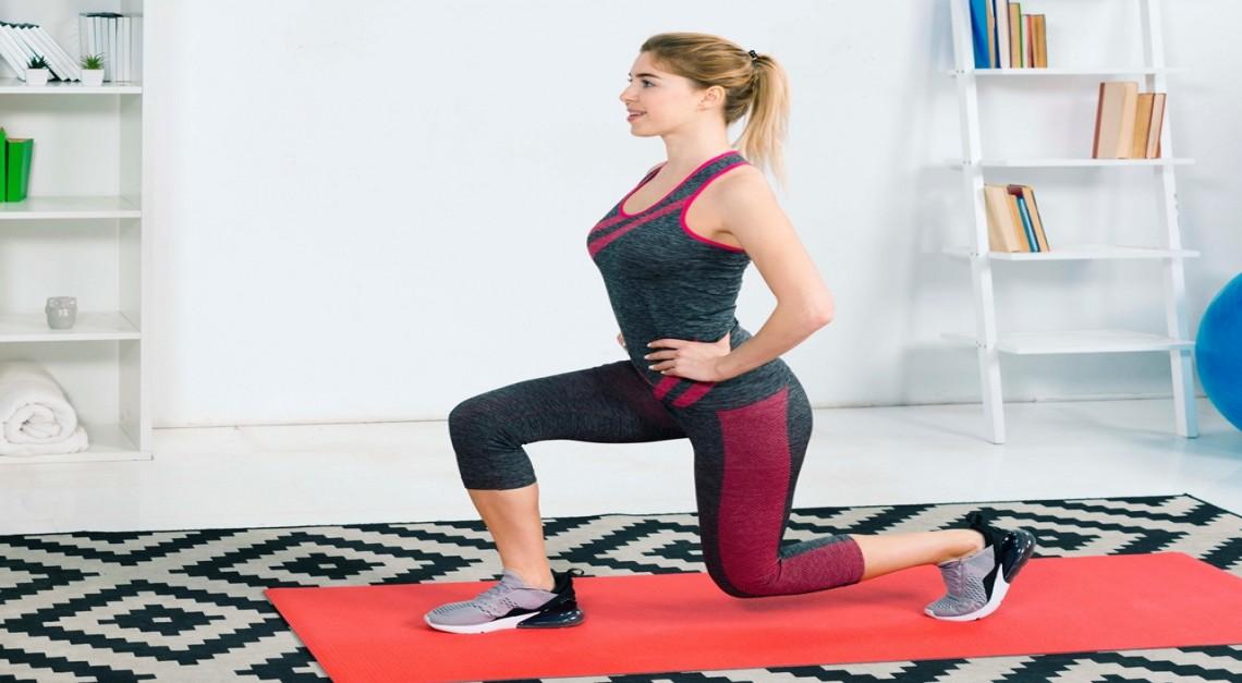 Exercício físico para todos os níveis e idades sem sair de casa