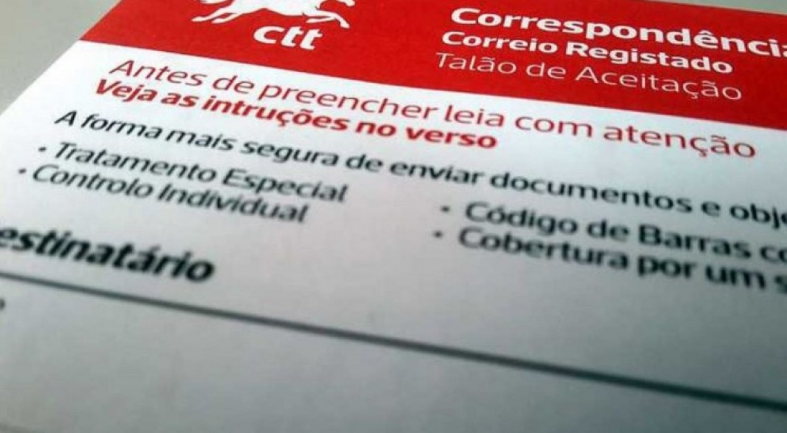 COVID-19. Recolha de assinatura no correio registado dos CTT suspensa