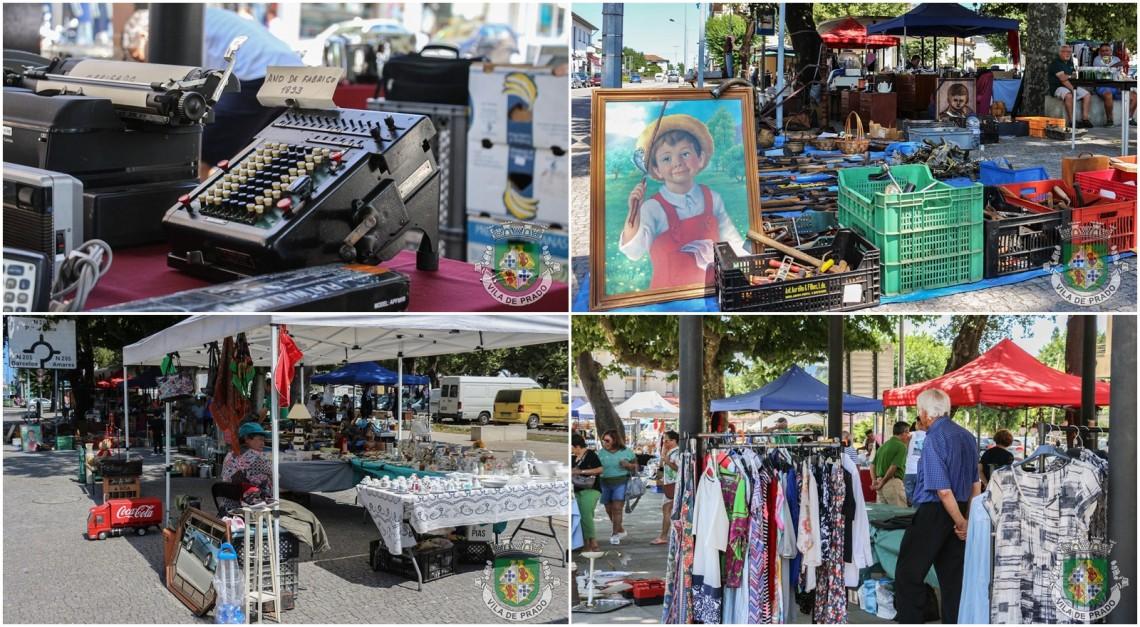 Vila de Prado. Feira de Antiguidades, Usados e Velharias passa a realizar-se duas vezes por mês