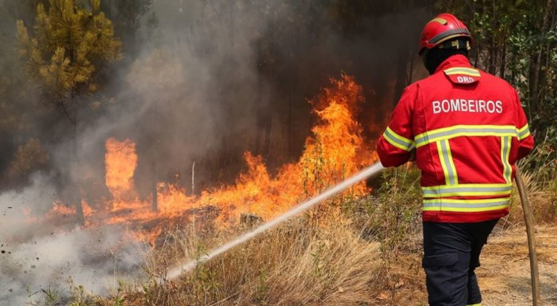 Perigo extremo de incêndio. Distrito de Braga em estado de alerta especial de nível vermelho