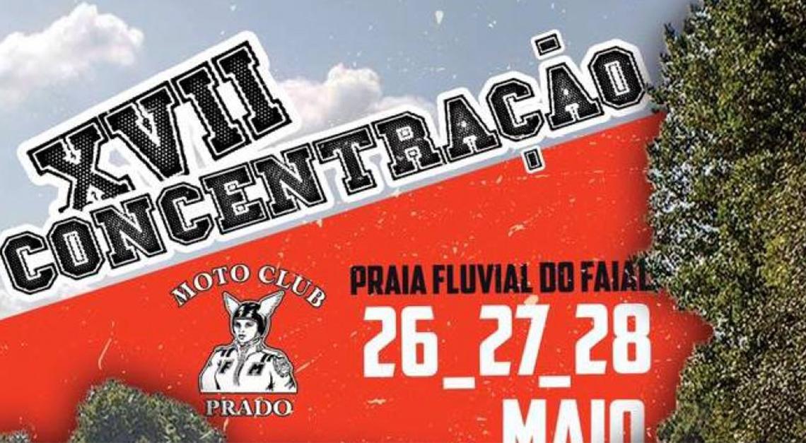 Concentração Motard de Prado de 26 a 28 de maio!