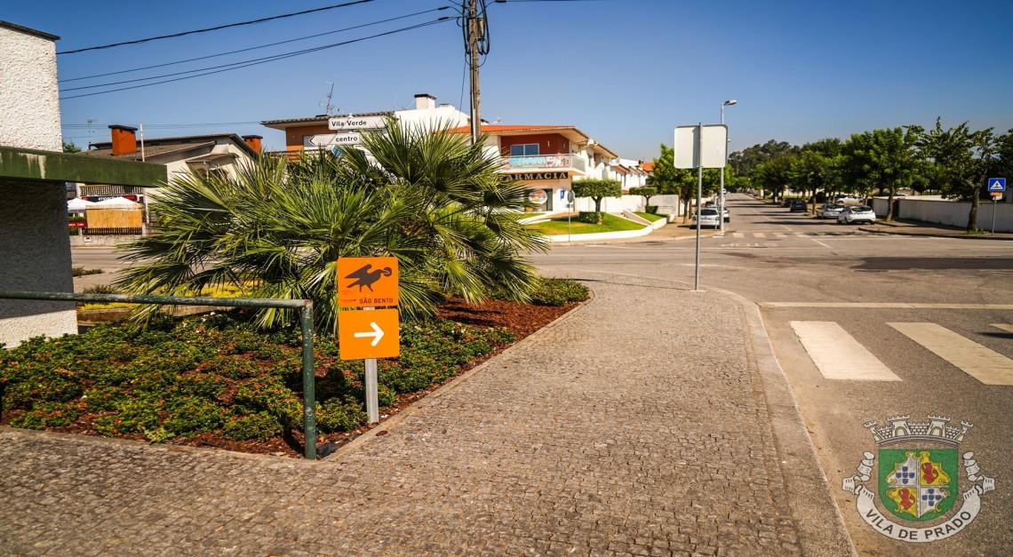 Os Caminhos de São Bento da Porta Aberta passam pela Vila de Prado