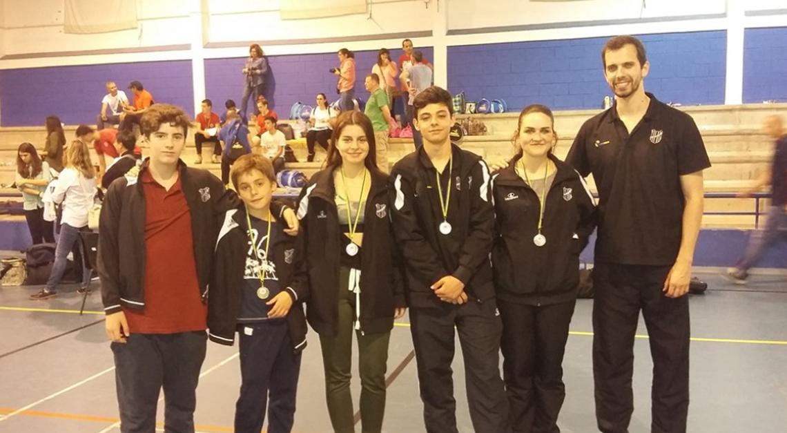 Taekwondo conquista quatro pratas no Internacional de Sintra