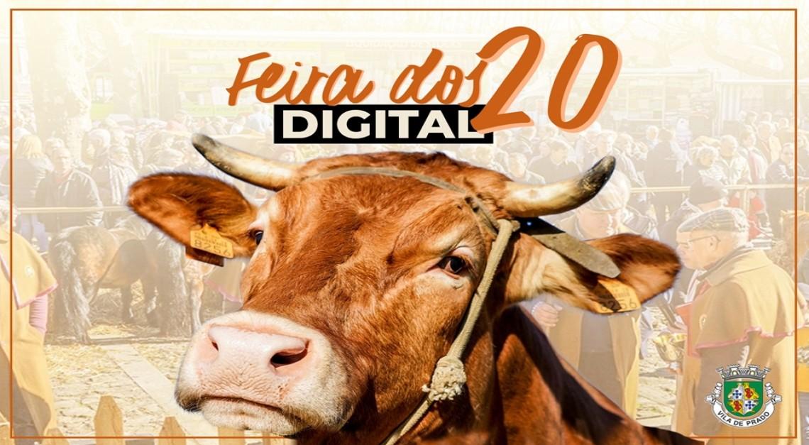 Feira dos Vinte Digital. Já pode (re)viver o certame nas redes sociais da Junta de Freguesia da Vila de Prado