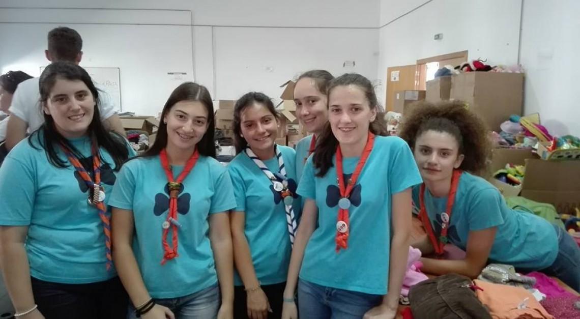 Missão Esperança: Guias de Prado estiveram em Figueiró dos Vinhos para ajudar vítimas dos incêndios