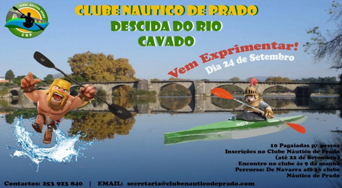 CN Prado promove Descida do Rio Cávado