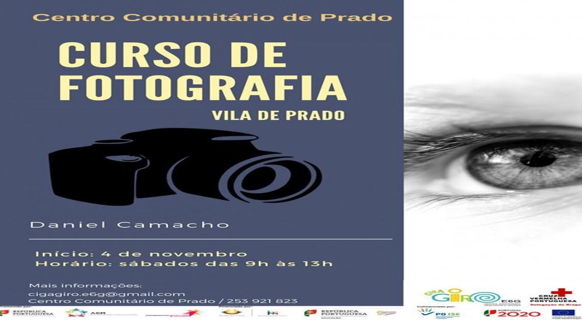 Curso de Iniciação à Fotografia no Centro Comunitário de Prado