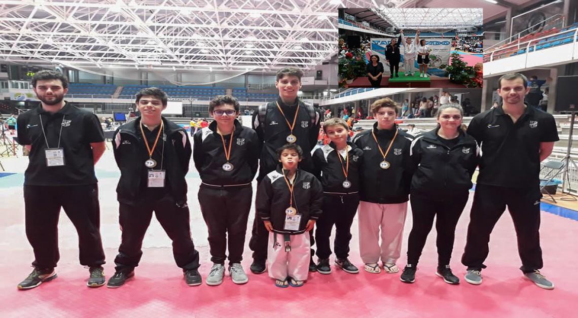 Taekwondo: GD Prado conquista sete medalhas em competição internacional!