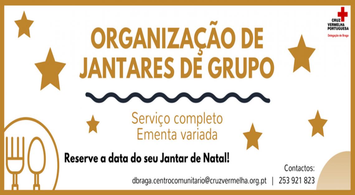 Chef Humanitário: Centro Comunitário de Prado organiza Jantares de Grupo!
