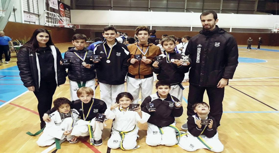 Taekwondo: GD Prado conquistou nove medalhas no Open de Valongo