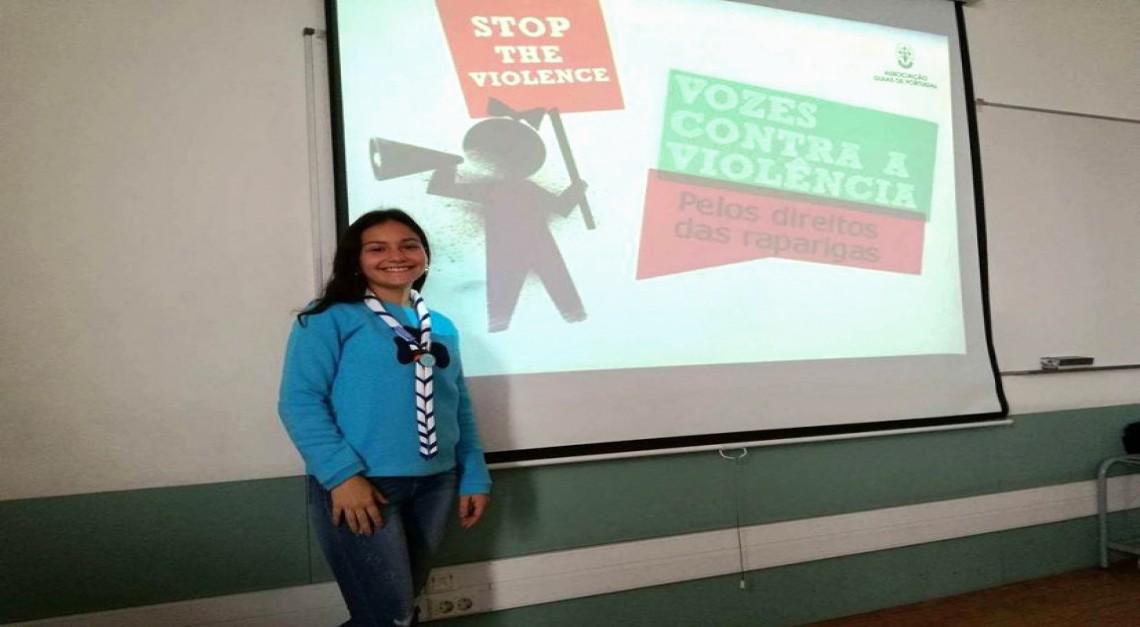 Guias de Portugal unem vozes contra a violência e Prado marca presença!