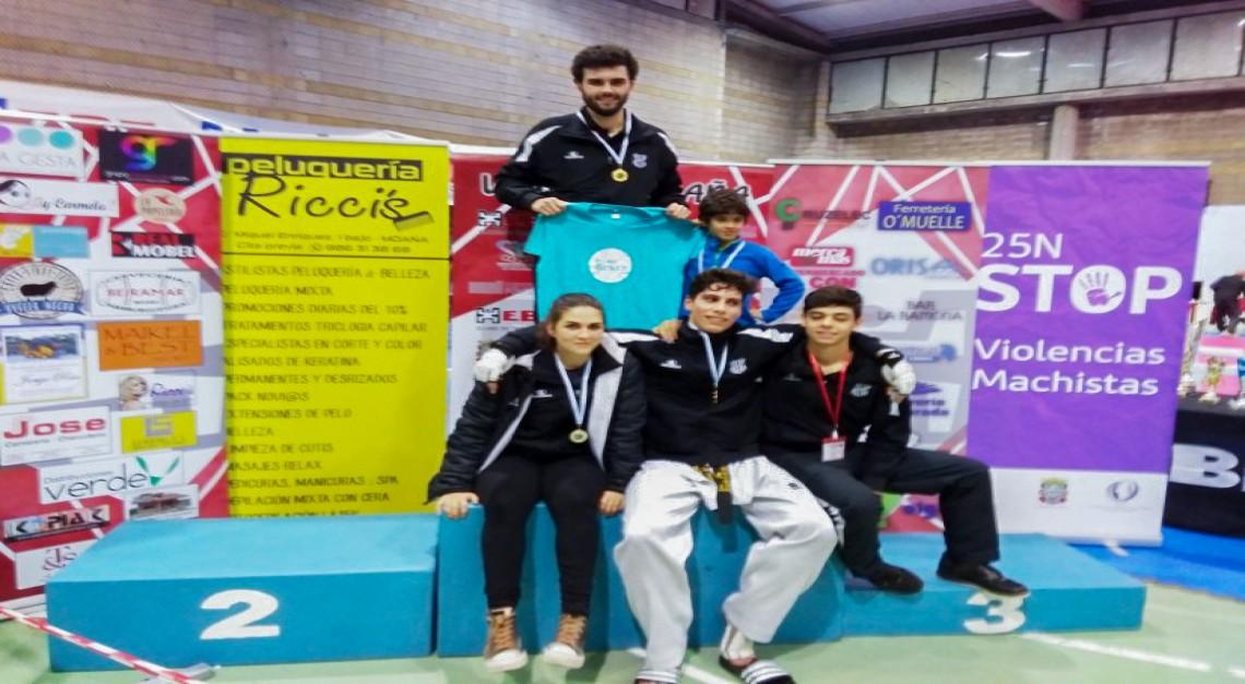 Taekwondo: GD Prado conquista quatro medalhas em prova internacional