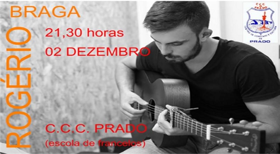 Rogério Braga atua na sede do CCC Prado