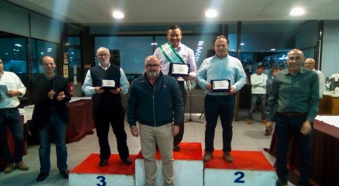 Sociedade Columbófila de Prado encerrou a campanha 2017 com entrega de prémios e jantar convívio!