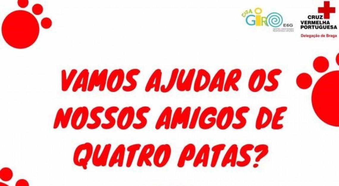 Centro Comunitário de Prado recolhe alimentos e cobertores para o Abrigo de Animais de Vila Verde!